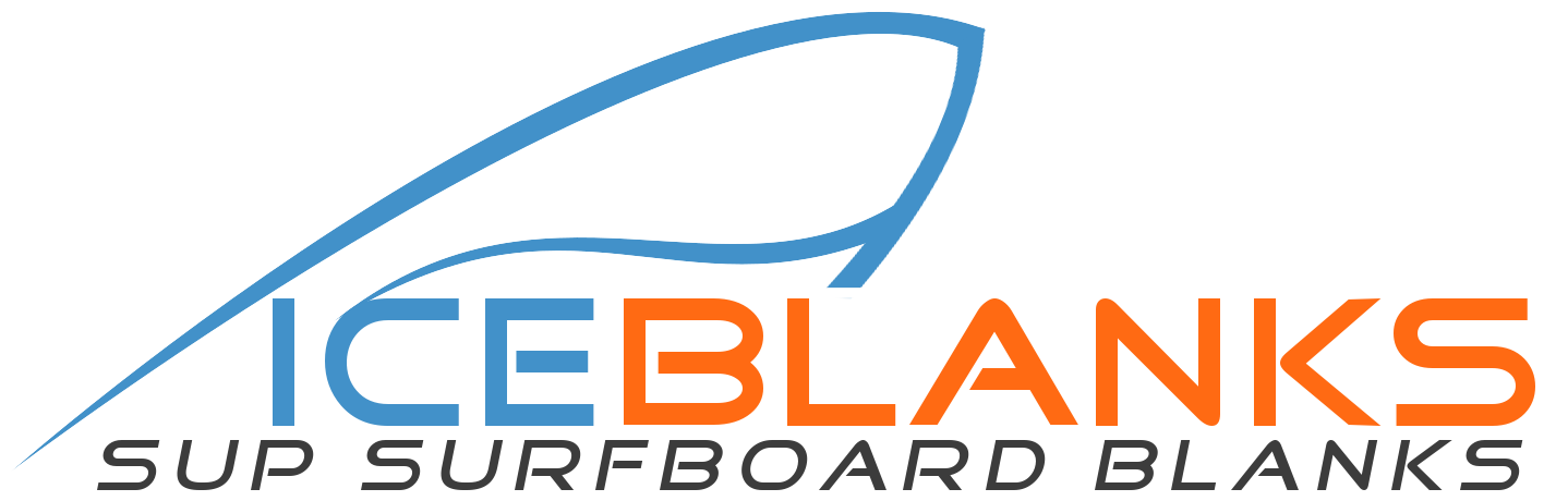 iceblanks surfboard sup blanks logo